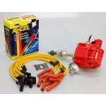 FORD FALCON MUSTANG WINDSOR 289 302W HEI 65K DISTRIBUTOR WITH ACCEL LEADS