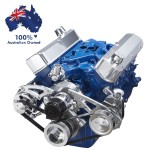 FORD FALCON MUSTANG WINDSOR 289 302 351W SERPENTINE PULLEY AND BRACKET SET WITH ELECTRIC WATER PUMP