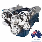 Ford 289-302-351W Small Block All Inclusive Serpentine Systems - Serpentine Conversion