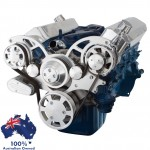 FORD FALCON MUSTANG WINDSOR 289 302 351W SERPENTINE PULLEY AND BRACKET COMPLETE KIT WITH ALTERNATOR ALL INCLUSIVE