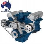 FORD FAIRLANE MUSTANG FE ENGINE-352,390,427,428 VEE BELT ALTERNATOR, POWER STEERING  PULLEY&BRACKETS