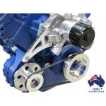 FORD FAIRLANE MUSTANG BB ENGINE 429-460 VEE PULLEY&BRACKET ALTERNATOR BILLET BRACKET KIT WITH ELECTRIC WATER PUMP