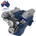 FORD FALCON MUSTANG WINDSOR 302 5.0L SERPENTINE PULLEY& BRACKET SET ALTERNATOR ONLY
