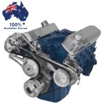 FORD FALCON MUSTANG WINDSOR 351W 5.8L SERPENTINE PULLEY AND BRACKET CONVERSION