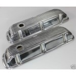 FORD FALCON MUSTANG WINDSOR 289 302 351W HOT ROD VALVE COVERS ALLOY