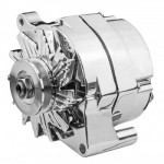 FORD FALCON MUSTANG HOTROD CHROME ALTERNATOR 100 AMP ONE WIRE CONNECTION
