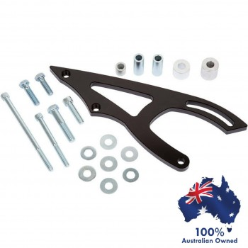 FORD FALCON MUSTANG 289 302 351W WINDSOR POWER STEERING BRACKET KIT TO USE WITH SAGINAW PUMP AND ELECTRIC WATER PUMP