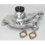 CHEVY BBC 396,427,454 SHORT ALUMINUM WATER PUMP - POLISHED FINISH