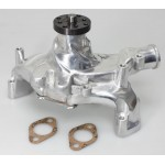 CHEVY BBC 396,427,454 LONG ALUMINUM WATER PUMP - POLISHED FINISH