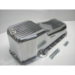 CHEVY SBC HOT ROD PRO ALLOY OIL PAN PRE 1979 - 265, 283, 302DZ, 307, 327, 350, 383, 400 SBC  EXCLUSIVE!!