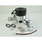 CHEVY BBC 396,427,454 ELECTRIC WATER PUMP - 35 GPM CHROME FINISH