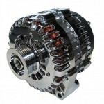 FORD FALCON MUSTANG HOTROD CHROME ALTERNATOR 120 AMP ONE WIRE CONNECTION 3G STYLE