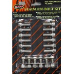 CHEVY FORD HOT ROD STAINLESS STEEL HEADER BOLTS 304 STAINLESS SET OF 12 !!!