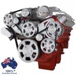 GM HOLDEN CHEVY LSA / LS 9 ENGINE SERPENTINE KIT -  ALTERNATOR & POWER STEERING