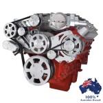 GM HOLDEN CHEVY LSA / LS 9 ENGINE SERPENTINE KIT - AC AIR COMPRESSOR AND ALTERNATOR