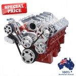 GM HOLDEN CHEVY LS 1,2,3 AND 6 ENGINE SERPENTINE KIT - AC AIR COMPRESSOR, ALTERNATOR & POWER STEERING