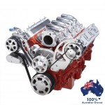 GM HOLDEN CHEVY LS 1,2,3 AND 6 ENGINE SERPENTINE KIT -  ALTERNATOR & AC AIR CONDITIONING PULLEY AND BRACKETS