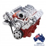 GM HOLDEN CHEVY LS 1,2,3 AND 6 ENGINE SERPENTINE KIT -  ALTERNATOR ONLY PULLEY AND BRACKETS