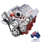 GM HOLDEN CHEVY LS 1,2,3 AND 6 ENGINE SERPENTINE KIT -  ALTERNATOR & POWER STEERING PULLEY AND BRACKETS