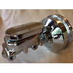 MOPAR DODGE PLYMOUTH A, B & E BODY CHROME 8 INCH BRAKE BOOSTER KIT DISC/DRUM OR DISC/DISC KIT